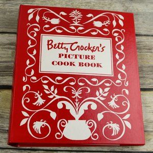 Betty Crocker Picture Cookbook 5 Ring Binder 1998